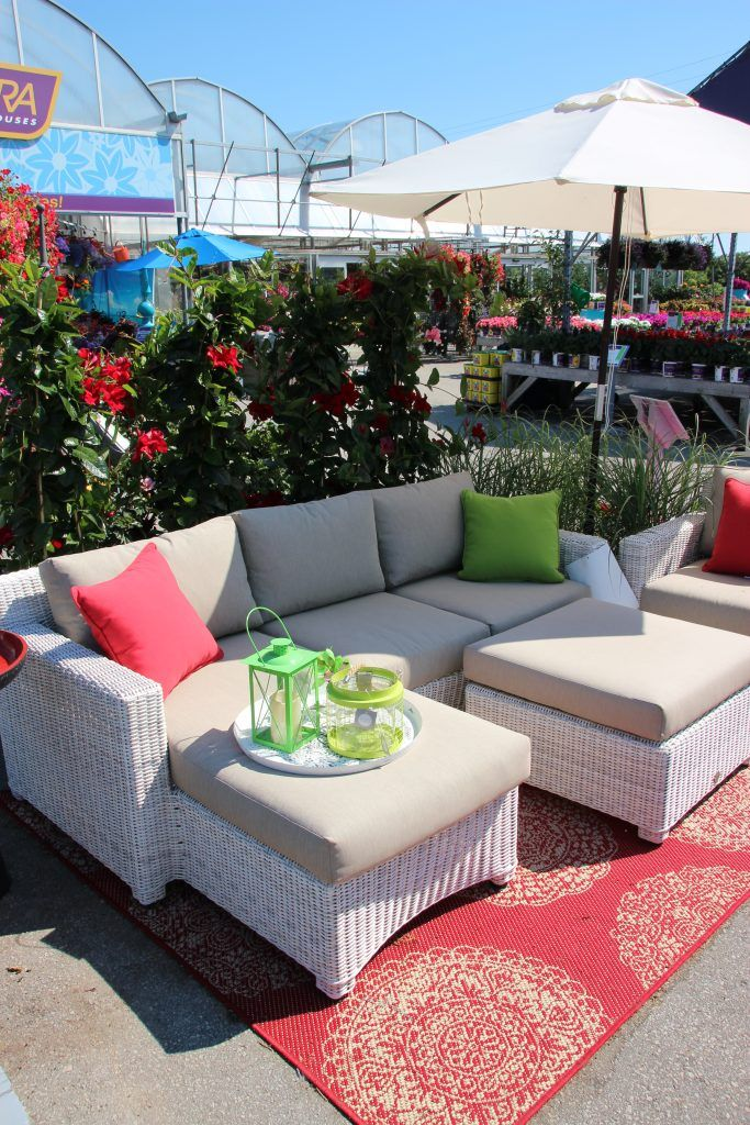Rialto 4pc Section Set Outdoor Patio Furniture Sets Patio Furniture