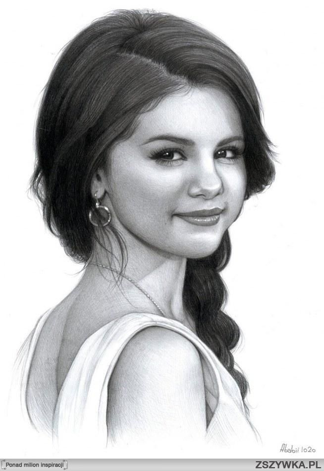 Selena ♥ (With images) | Selena gomez drawing, Portrait