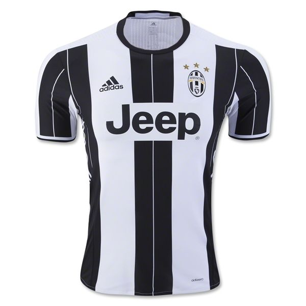 quality design d0ff4 92f20 Juventus 16/17 Authentic Home Soccer Jersey | Football ...