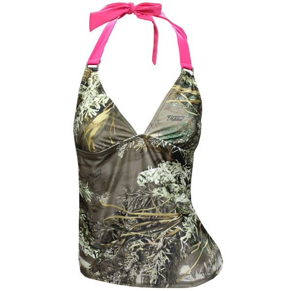 Realtree Camo Tankinis -love it! Find this Pin and more on Camo Swimsuits by Realtree. Realtree Camo Tankini- Mossy Oak would be better but still awesome Realtree Camo Tankini - I .