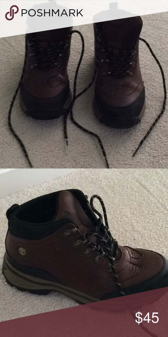 6c69ad03113 Boys Hiking Boots Only worn twice. Son grew out of them. Timberland ...