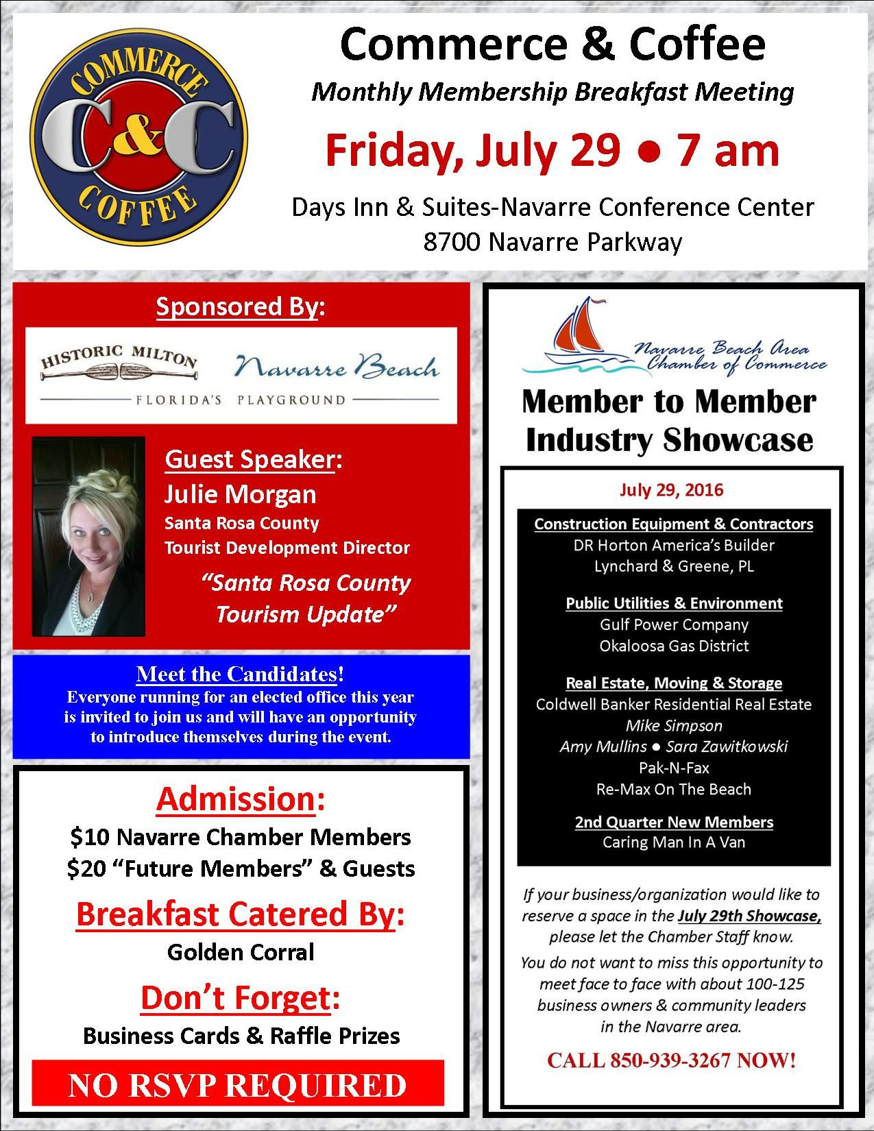 Pin By Navarre Chamber On Events Chamber Of Commerce Guest Speakers