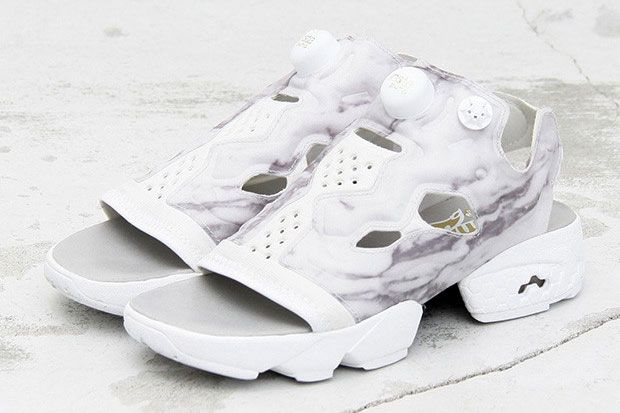 1a8414ca19 Does the Reebok Insta Pump Fury Work as a Sandal? Beauty & Youth Finds Out  | Sneakers | Reebok, Sneaker magazine, Sneakers