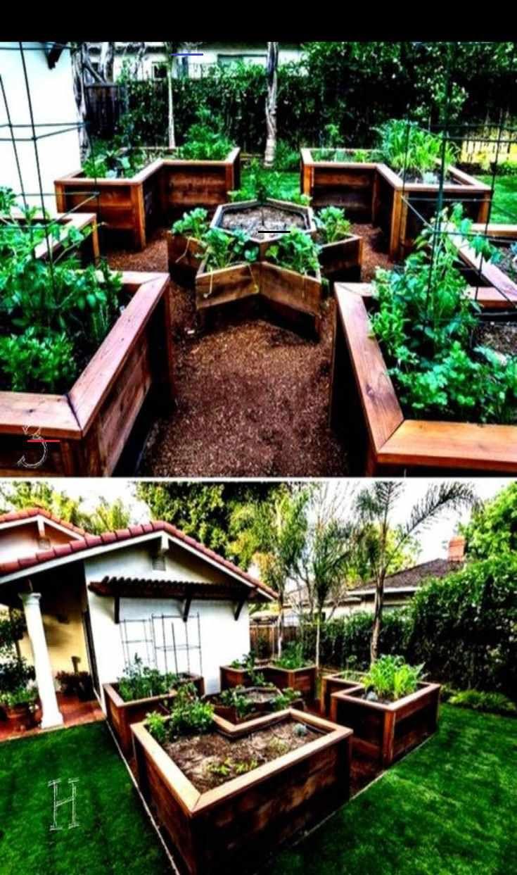 49 Awesome Vegetable Garden Design Ideas #weddingdress #instagram #summer #health #amazing #fitness...