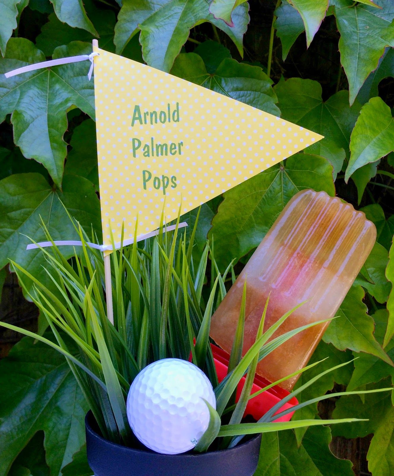 Arnold Palmer Pops - Frozen Layers of Iced Tea and Lemonade the Perfect Summer Treat
