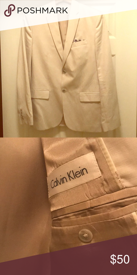 Calvin Klein Light Blazer Light blazer, Calvin klein, Blazer