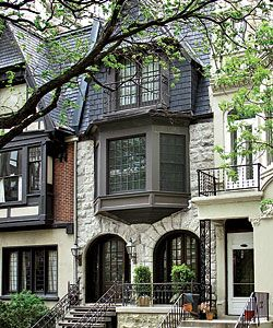 Chicago townhouse previously owned by the Rancics  Architecture  Interesting Architectural