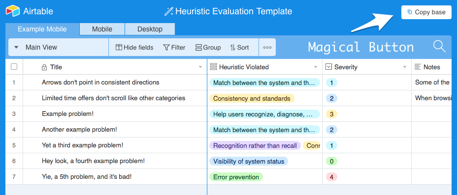 Heuristic Evaluation How To Conduct A Heuristic Evaluation