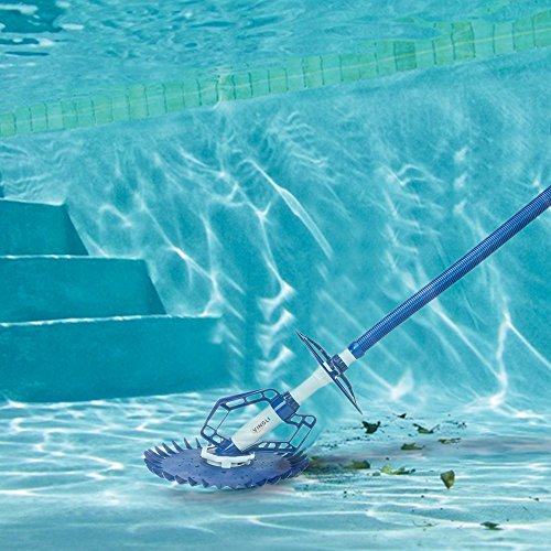 Vingli Automatic In Ground Suction Side Pool Cleaner Review Pool Vacuum Cleaner Pool Cleaning Best Automatic Pool Cleaner