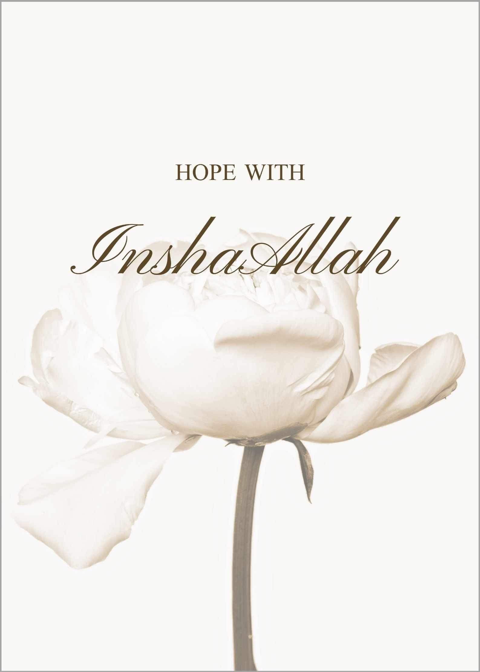 Hope with InshaAllah No.1