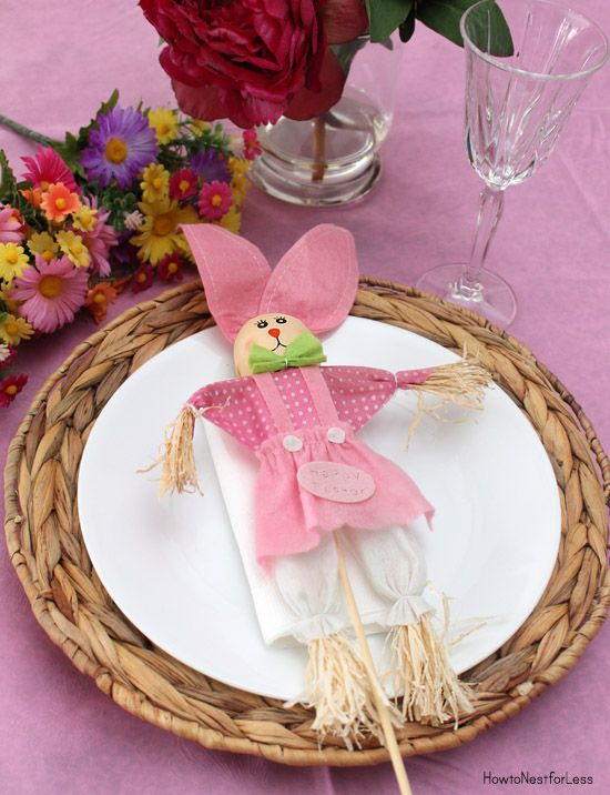 10 #DIY #Easter Table Settings on a budget from Dollar General and @nestforless. & 10 Easter Table Setting Ideas on a Budget | Easter table settings ...