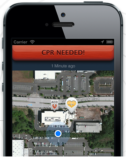 PulsePoint App saves infant's life by alerting nearby CPR