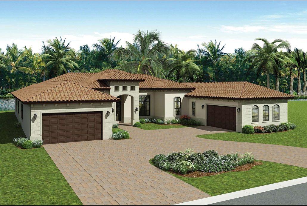 The Windsor Plan In The Empire Collection At Seven Bridges In Delray Beach Florida Florida Real Florida House Plans Florida Real Estate Delray Beach Florida