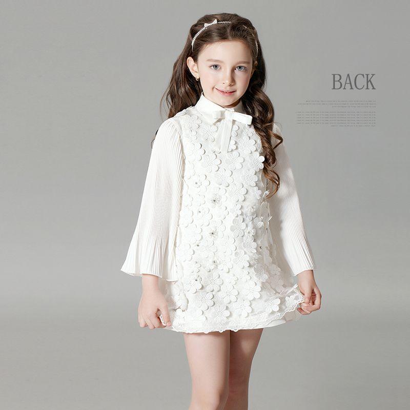 0a0e47a0154e9  Dress Zone 可愛い プリンセス ワンピースセット ハイウエスト Aライン 子どもドレス キッズドレス