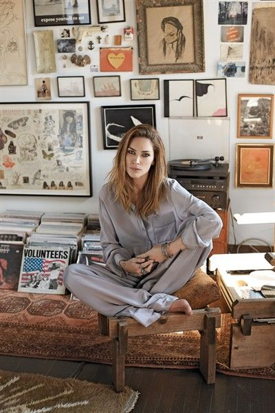Papercity Erin Wasson Styled To Rock Slideshow Erin Wasson Home Interior