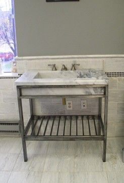 Bon Vanities Wrought Iron And Stone   Eclectic   Bathroom Vanities And Sink  Consoles   Cleveland   CASTELLI MARBLE INC.