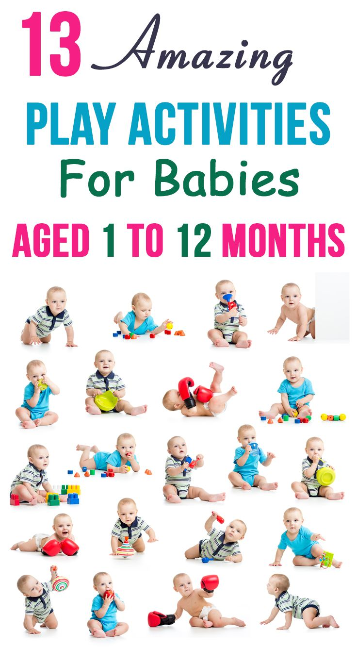 13 Amazing Play Activities For Babies Aged 1 To 12 Months Baby Learning Infant Activities Baby Development