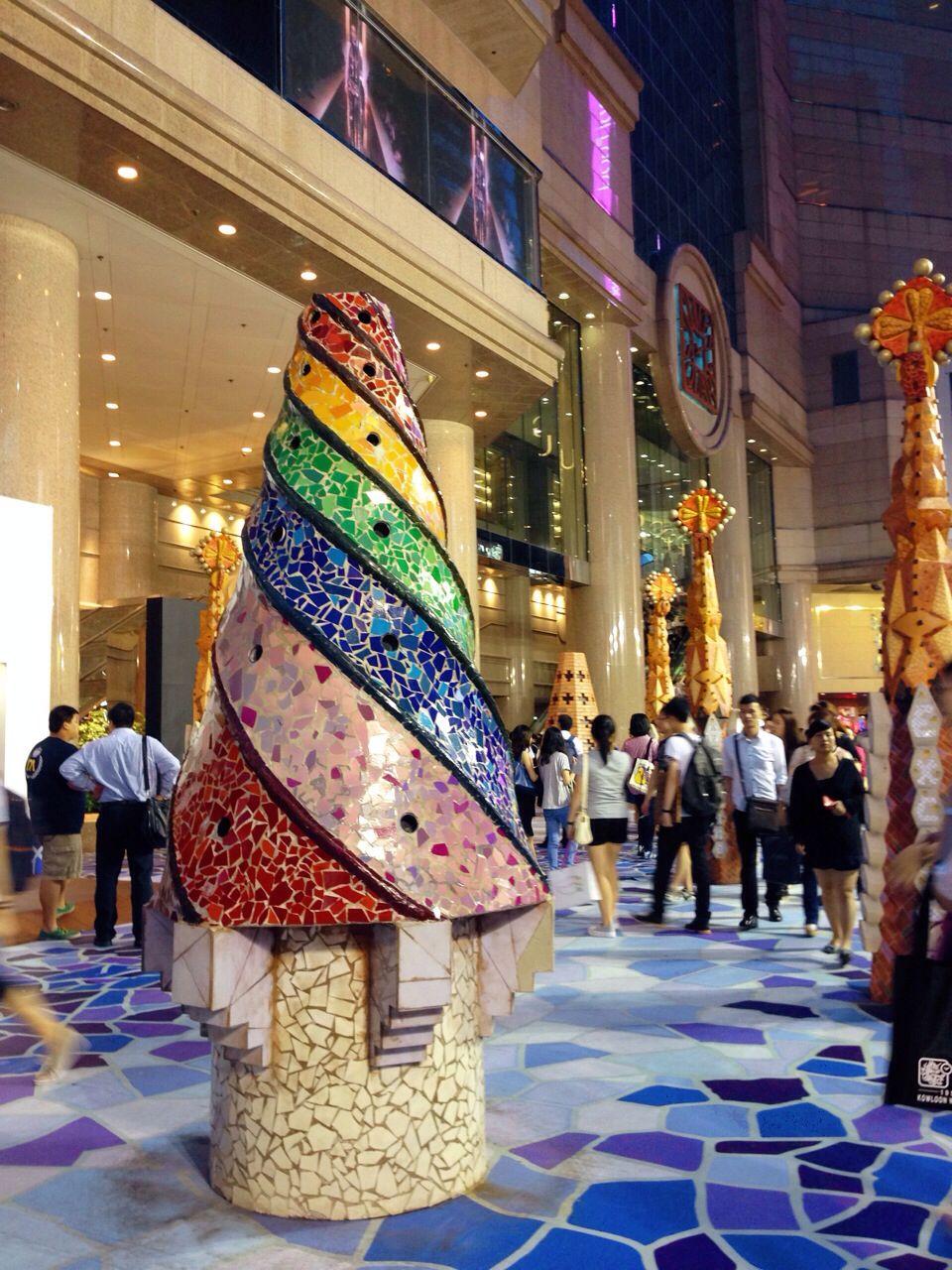 Gaudi at Time Square