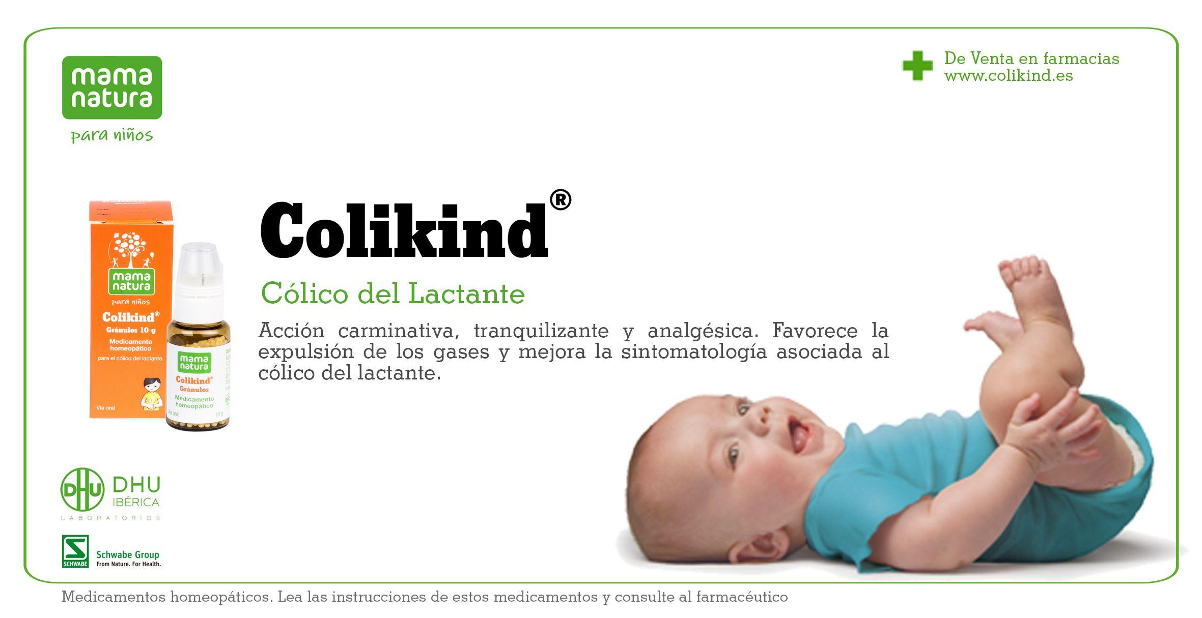 Colikind de Mama Natura para el cólico del lactante www.colikind.es
