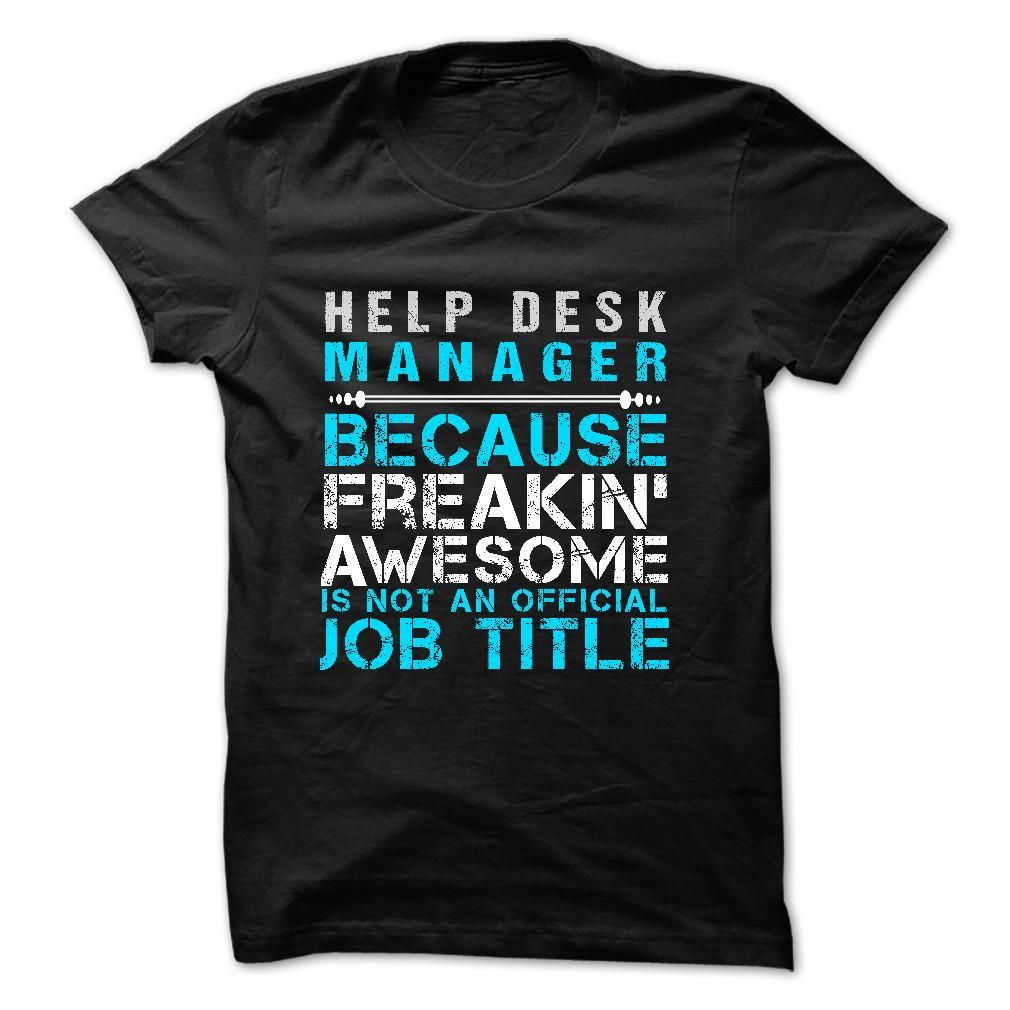 Love Being Help Desk Manager T Shirt Hoo Sweatshirt
