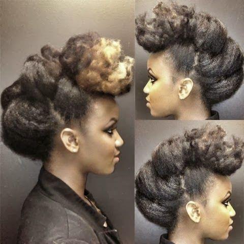 Curly Nikki | Natural Hair Styles and Natural Hair Care: Naturally Glam-Natural Hair Idols #naturalhairupdo