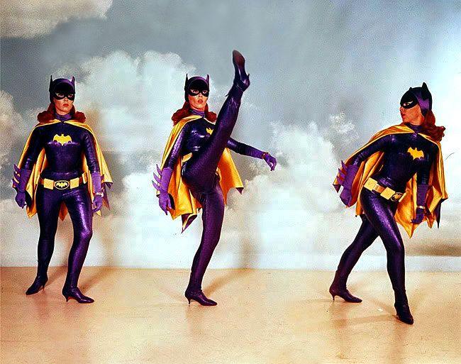 1960's Batman Classic TV Series  - batgirl routine