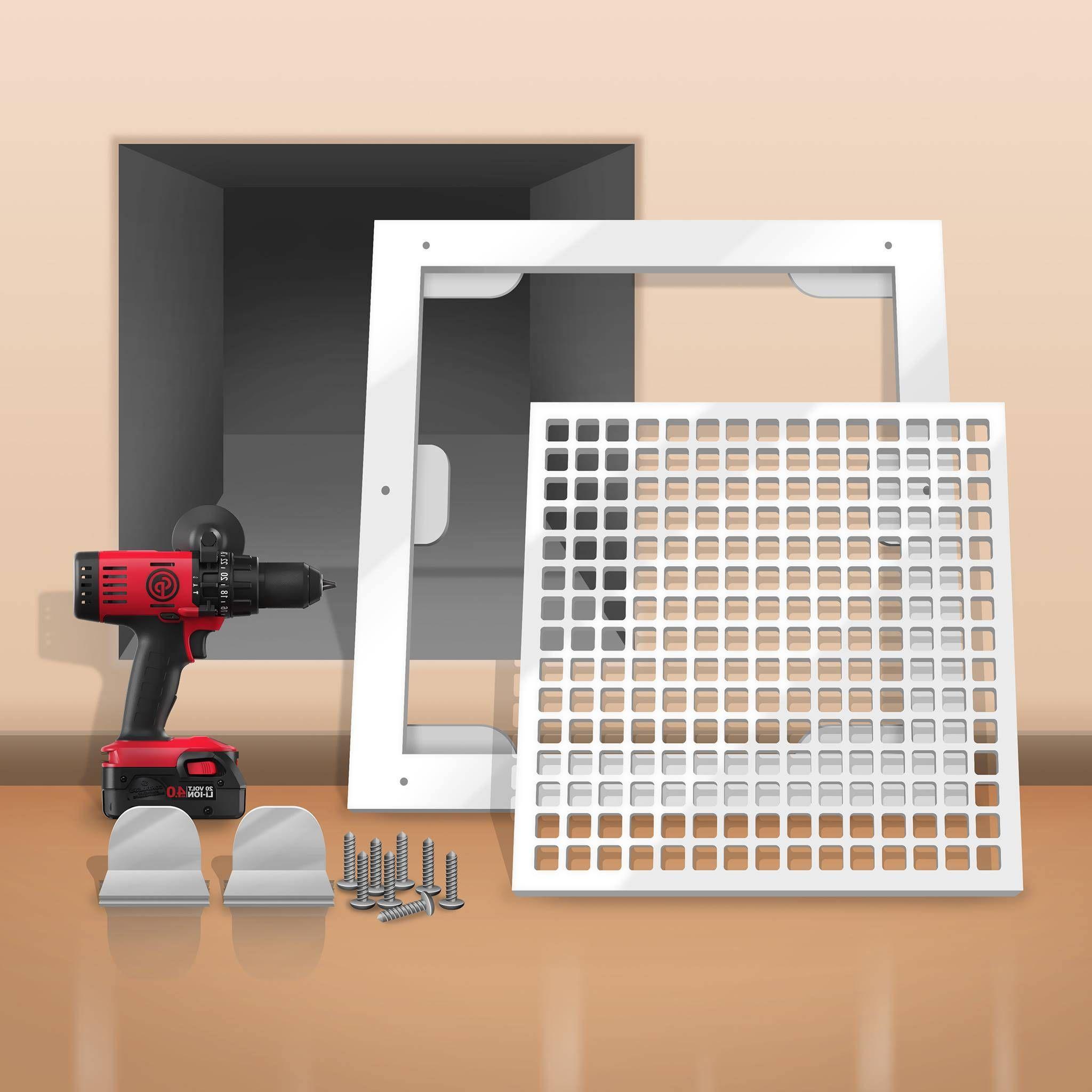Decorative Resin Air Return Filter Grille in 2020 Air