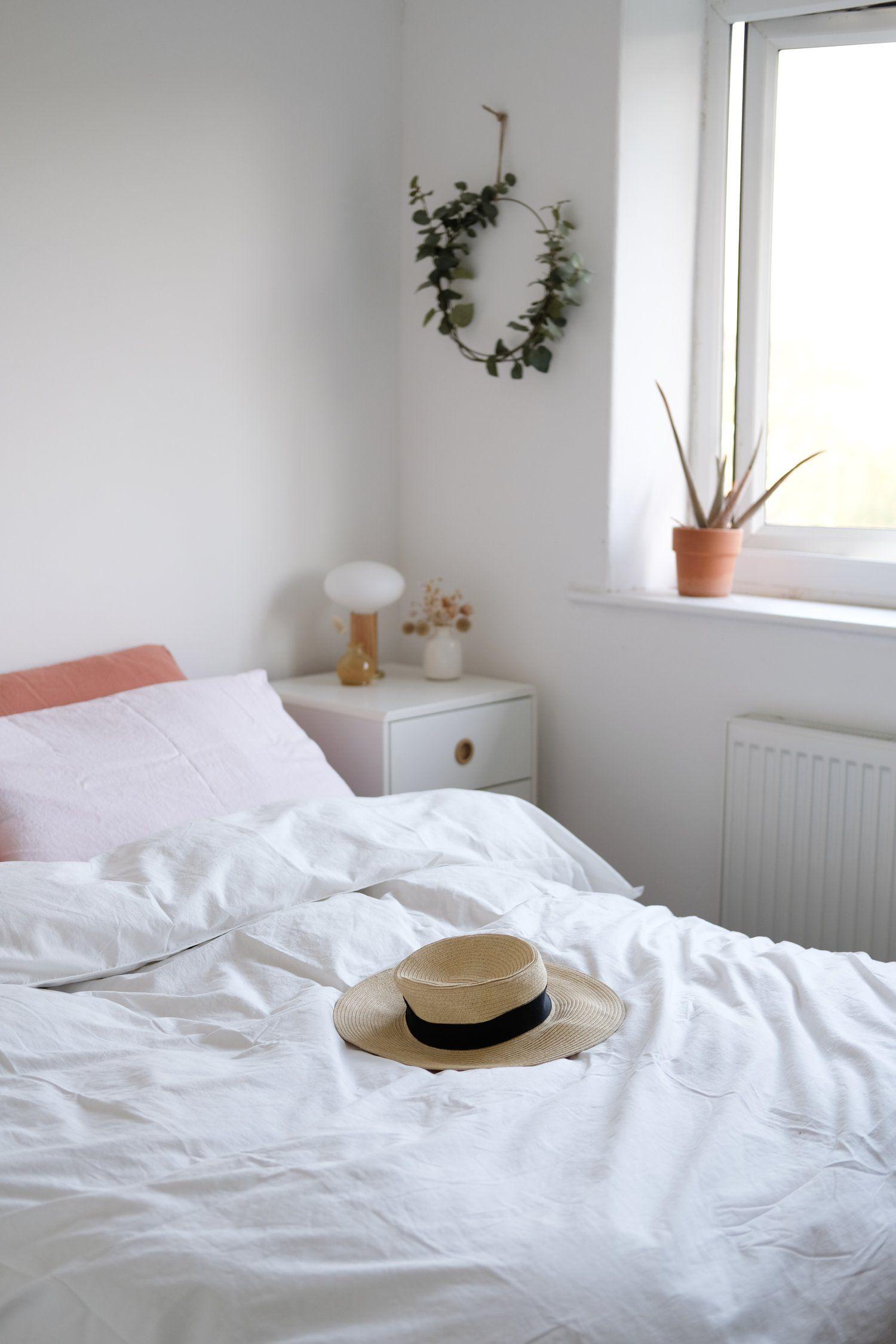 A Slow + Simple Bedroom Makeover (Ad) Simple bedroom