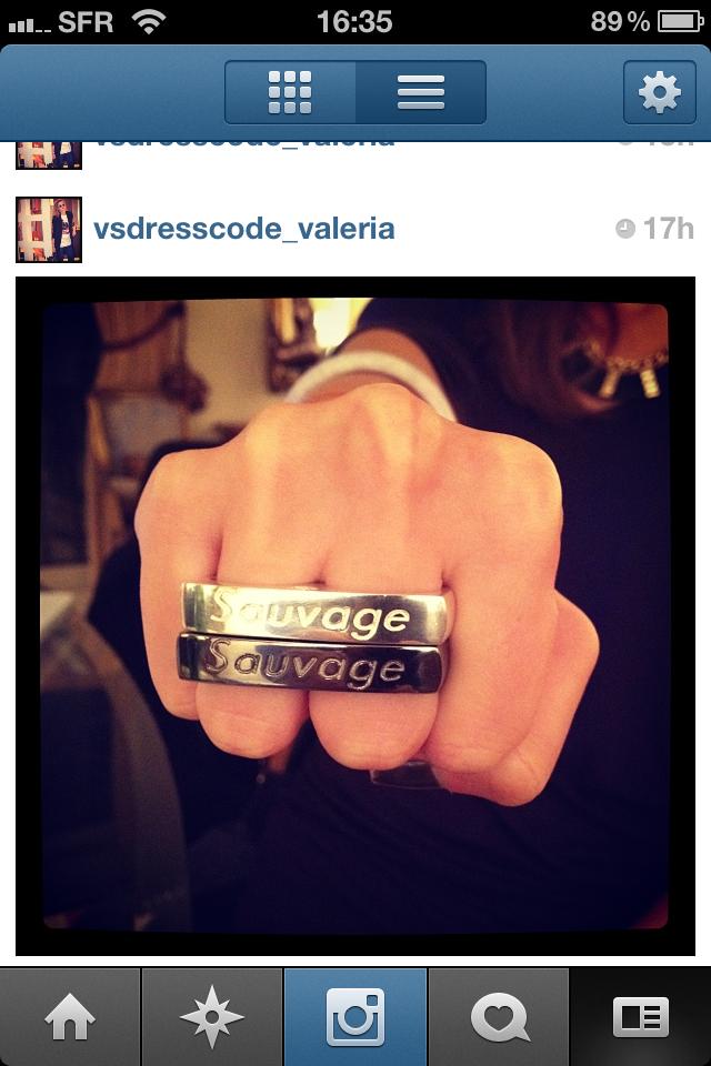 sauvage ring
