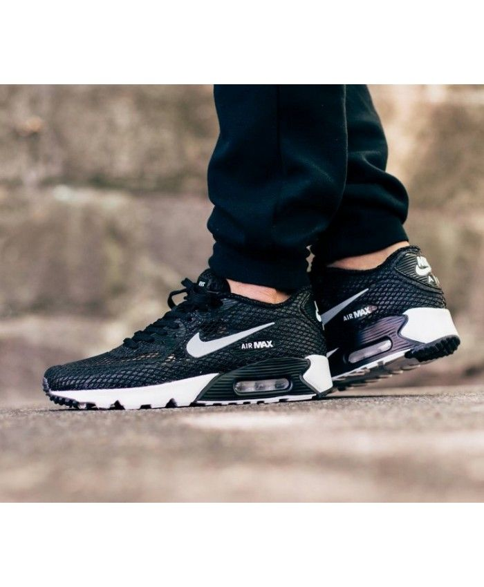 nike air max 90 ultra br Blanc silver Chaussures  on sale