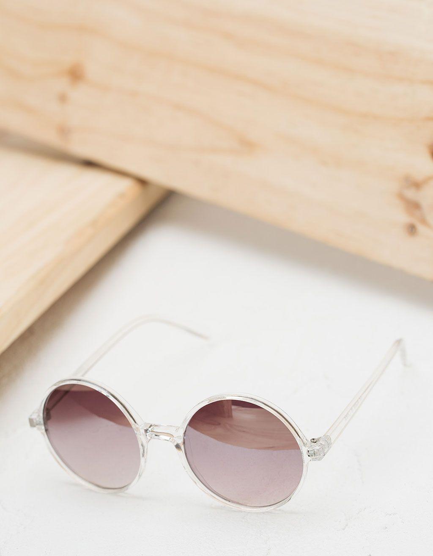 Gafas redondas montura transparente. Descubre ésta y muchas otras ...
