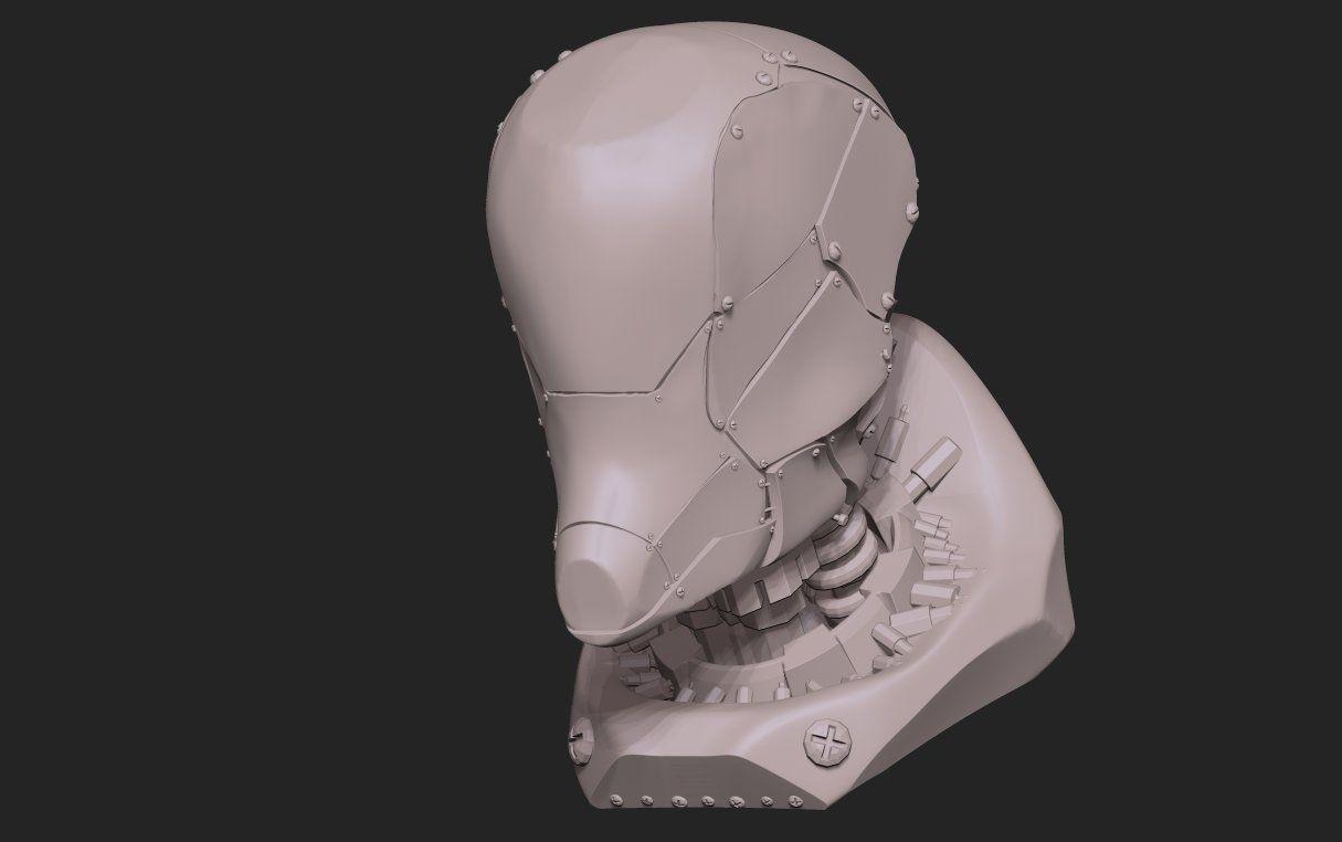 Korega Bot, Haritz Huzariq on ArtStation at https://www.artstation.com/artwork/korega-bot