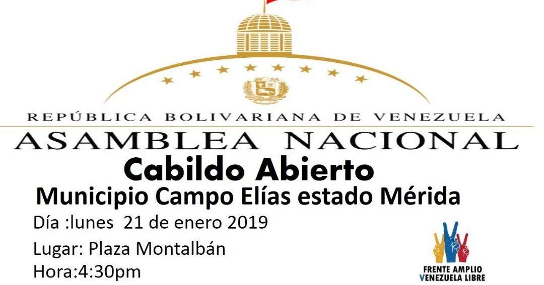 Pin De Adgremial Profytecad Mérida En Máxima Divulgación Asamblea Nacional Merida Venezuela Libre
