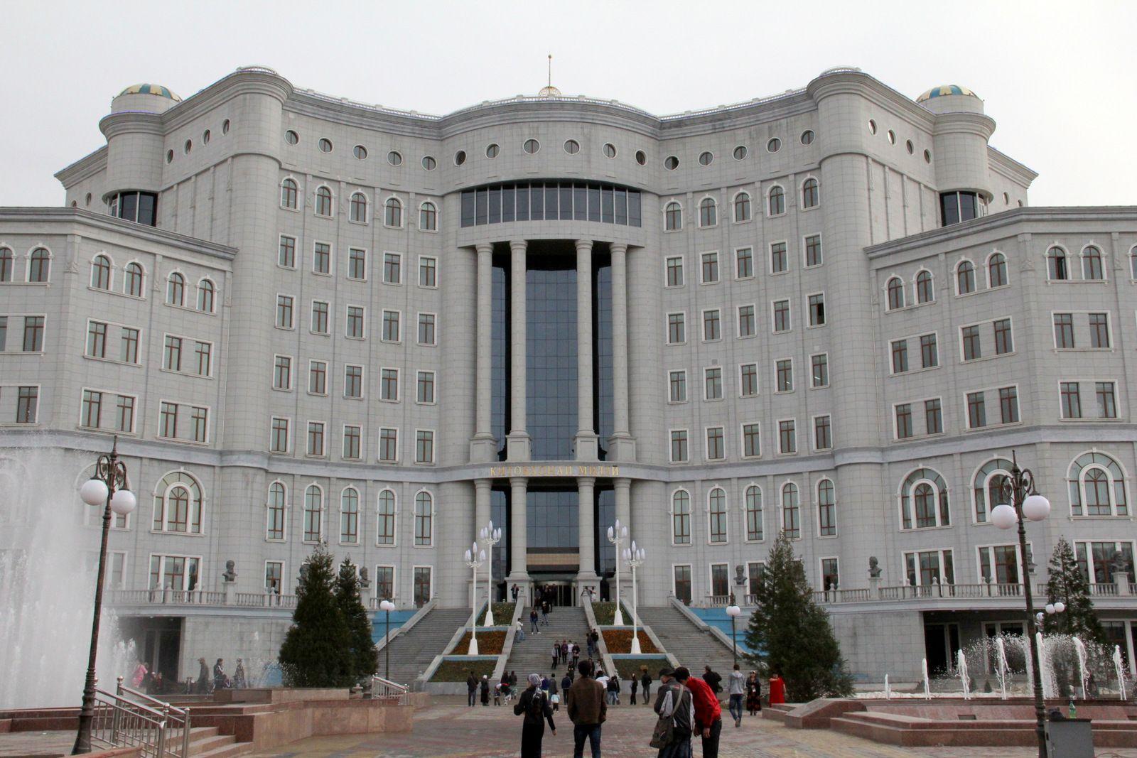 National Library Dushanbe Tajikistan Dushanbe Tajikistan Street View