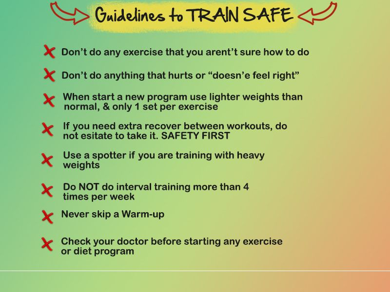 #Guidelines to #train #safe