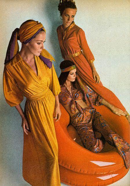 Balloon Chair Harem 1969 By Mewdeep Via Flickr Groovy Fashion