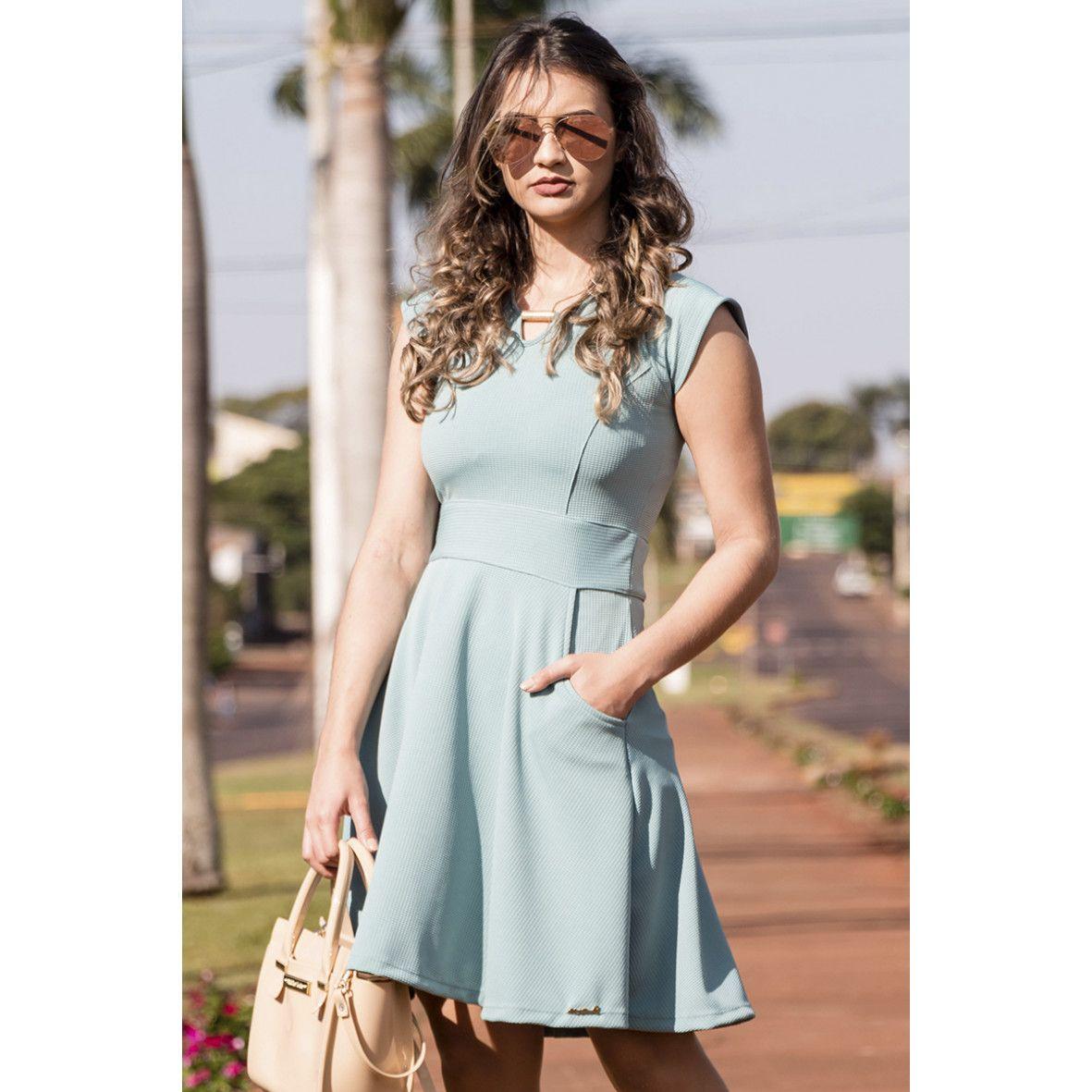 02a8adea3 Vestido Gode Lady Like Maria Bourbon Moda Evangélica em 2019 ...