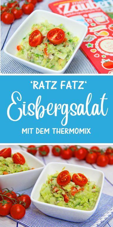 Ratz-Fatz Eisbergsalat #healthycrockpotchickenrecipes