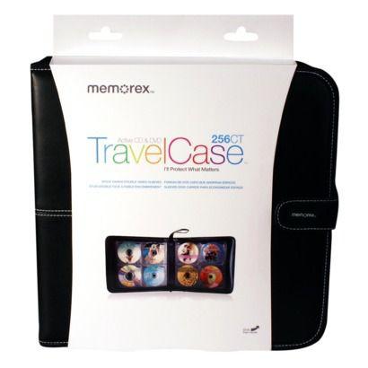 Memorex TravelCase Active CD & DVD Wallet 256-ct - Target approx. $24.99