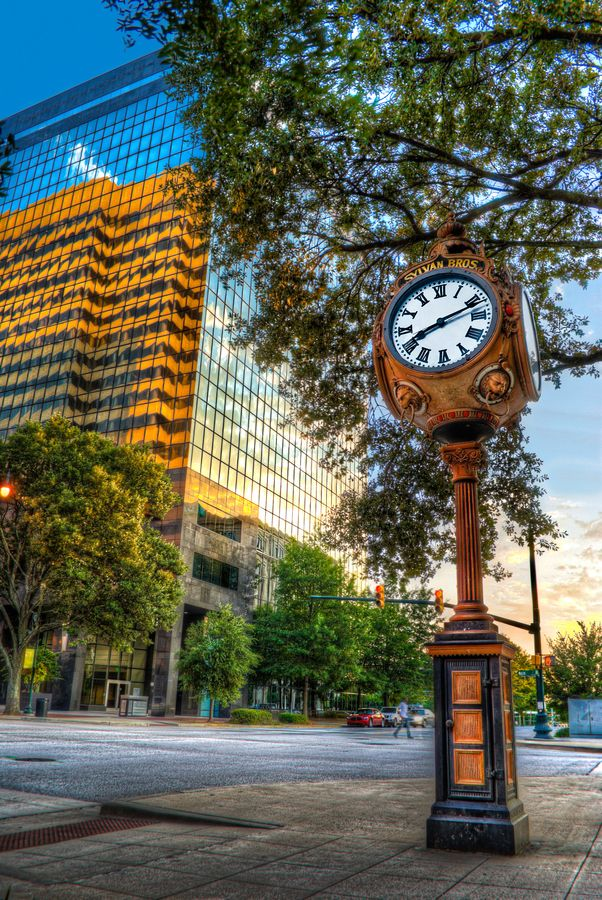 Downtown Reflections Columbia Sc By David Baker On 500px With