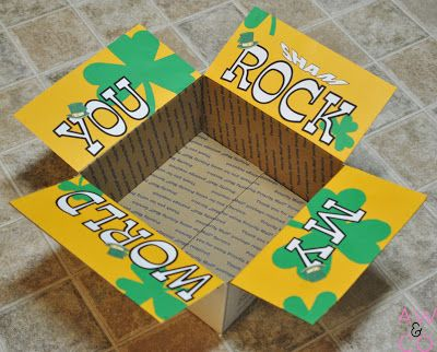 Care Package #17: You Shamrock my World -- #army #deployment