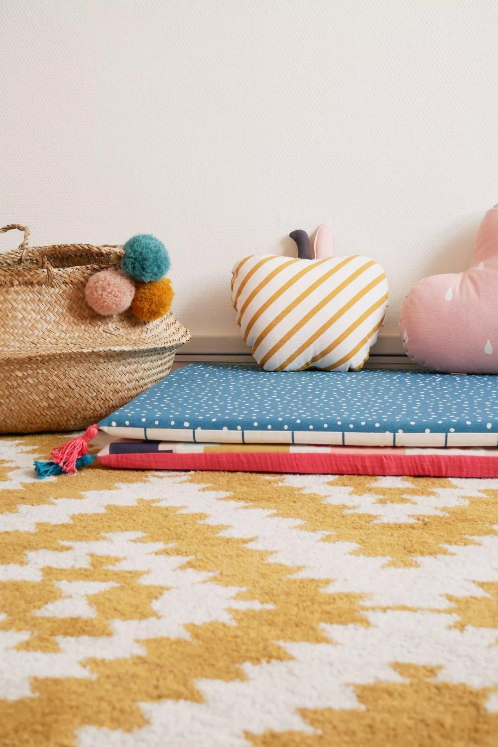 Couture Tapis De Sol Bébé tuto couture – des tapis de sol rapides à réaliser avec