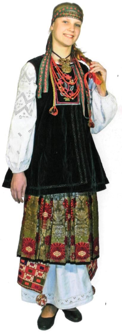 Ukrainian folk costume. Традиційне вбрання Слобожанщини fe3369855fcd8