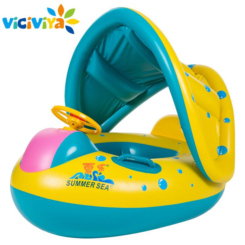 5b03e95d791e2 ... Anello Gonfiabile Swan Swim Galleggiante divertente Piscina Giocattoli  Sede Dell anello di Nuotata della Barca Infantile Giocattolo Acqua strumento