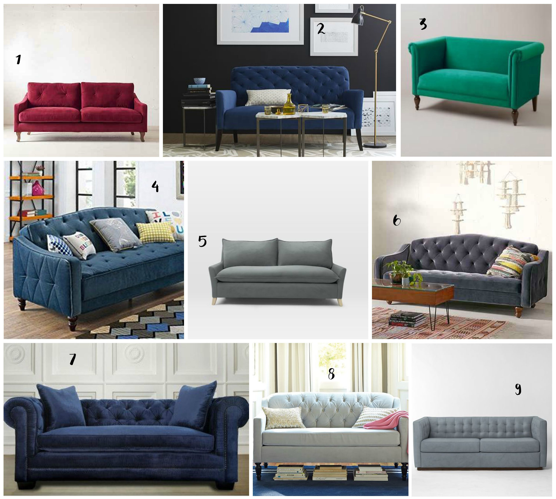 18 Beautiful Velvet Sofas For Every Style Budget Thetwinsnextdoor