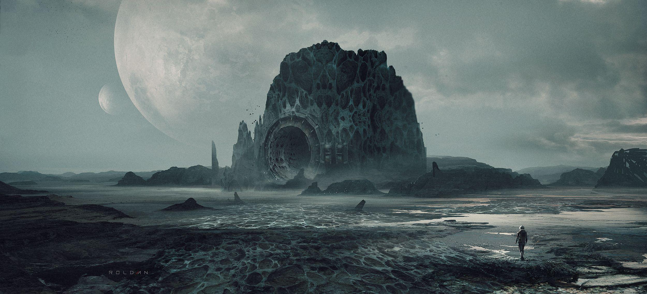Gate by Juan Pablo Roldan | Sci-Fi | 2D | CGSociety
