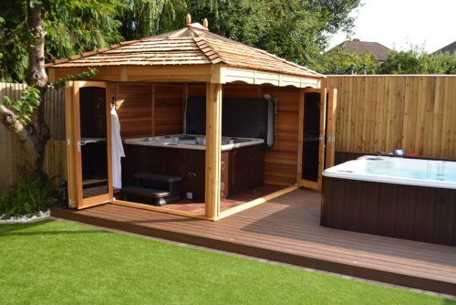 Hot Tub Sheds Google Search Hot Tub Gazebo Ideas Hot