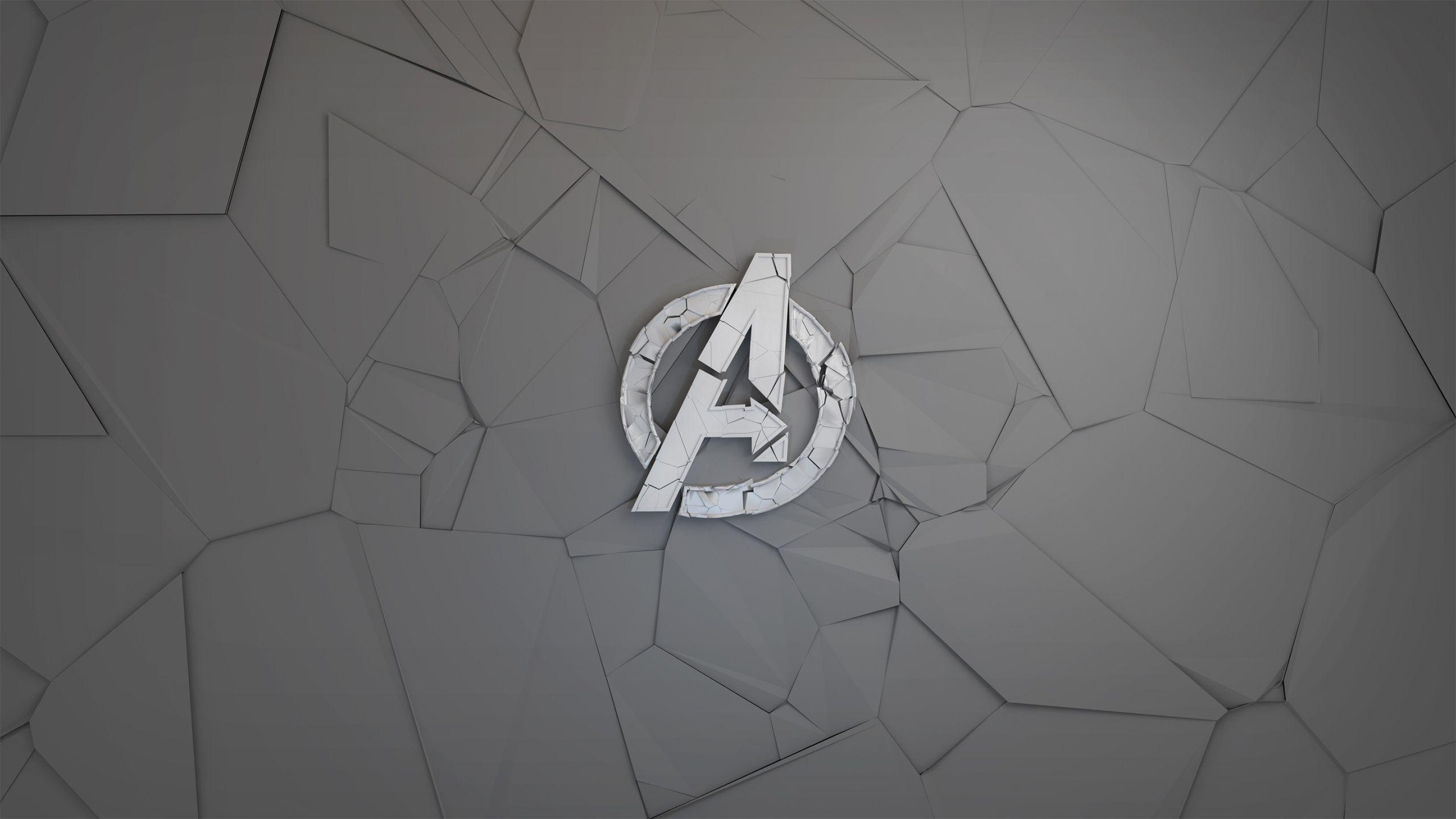 Avengers Minimal Logo Dc comics wallpaper desktop
