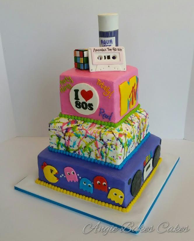 Rubix Cube Cake Topper