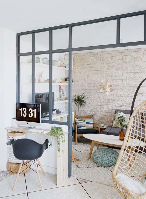 DIY / Ma verrière d\'intérieur esprit atelier d\'artiste « fait maison ...